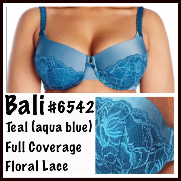 915fe34be9 Bali Bra Floral Lace  6542 Full Coverage 38C